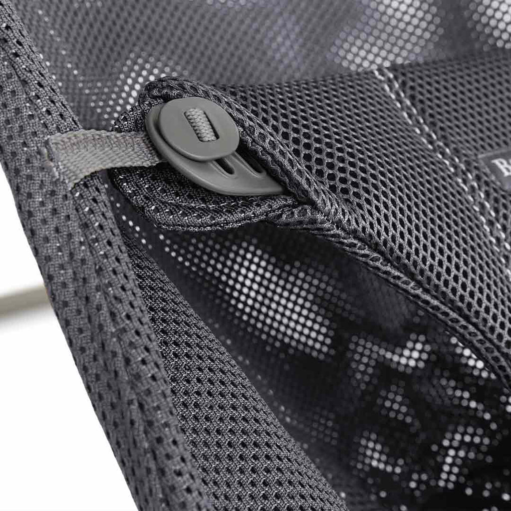 BabyBjörn Baby Bouncer Bliss - Anthracite Mesh-Baby Bouncers- Natural Baby Shower
