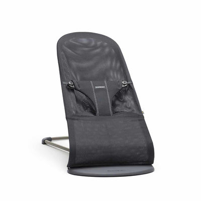BabyBjorn Baby Bouncer Bliss - Anthracite Mesh-Baby Bouncers- Natural Baby Shower