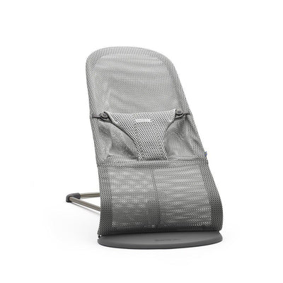 BabyBjorn Baby Bouncer Bliss - Grey Mesh-Baby Bouncers- Natural Baby Shower