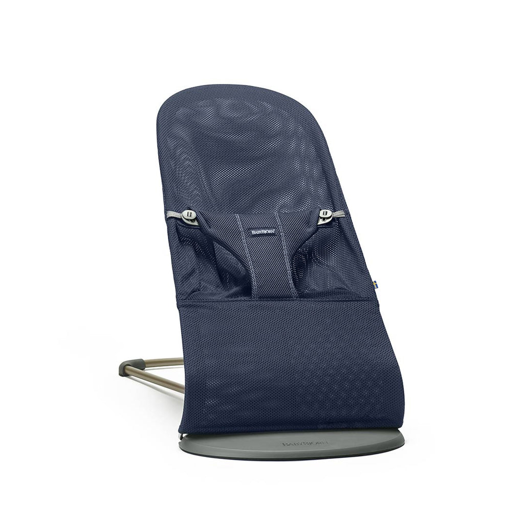 BabyBjörn Baby Bouncer Bliss - Navy Blue Mesh-Baby Bouncers- Natural Baby Shower
