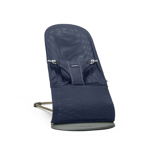 BabyBjorn Baby Bouncer Bliss - Navy Blue Mesh-Baby Bouncers- Natural Baby Shower