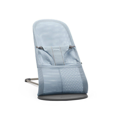 BabyBjorn Baby Bouncer Bliss - Sky Blue Mesh-Baby Bouncers- Natural Baby Shower