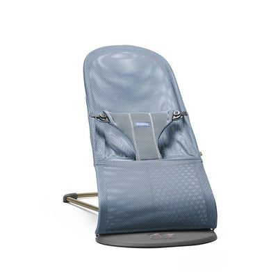 BabyBjorn Baby Bouncer Bliss - Slate Blue Mesh-Baby Bouncers- Natural Baby Shower