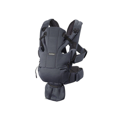 BabyBjorn Move 3D Mesh Baby Carrier - Anthracite-Baby Carriers-Anthracite- Natural Baby Shower
