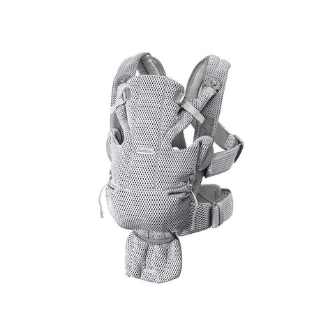 BabyBjorn Move 3D Mesh Baby Carrier - Gray-Baby Carriers-Gray- Natural Baby Shower
