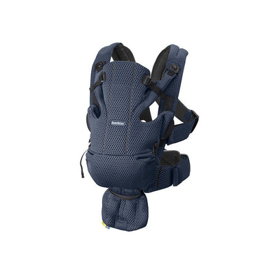 BabyBjorn Move 3D Mesh Baby Carrier - Navy Blue-Baby Carriers-Navy Blue- Natural Baby Shower