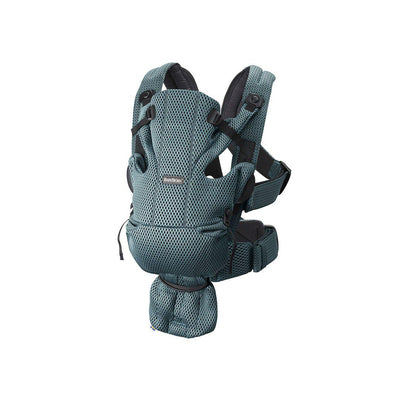 BabyBjorn Move 3D Mesh Baby Carrier - Sage Green-Baby Carriers-Sage Green- Natural Baby Shower