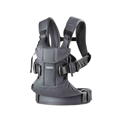 BabyBjorn One Air Baby Carrier - Anthracite-Baby Carriers-Anthracite- Natural Baby Shower