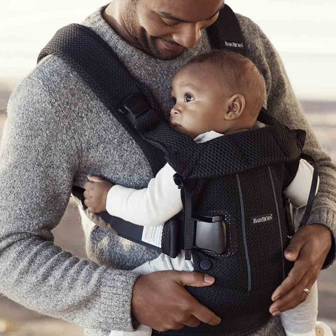 BabyBjörn One Air Baby Carrier - Black-Baby Carriers-Black- Natural Baby Shower