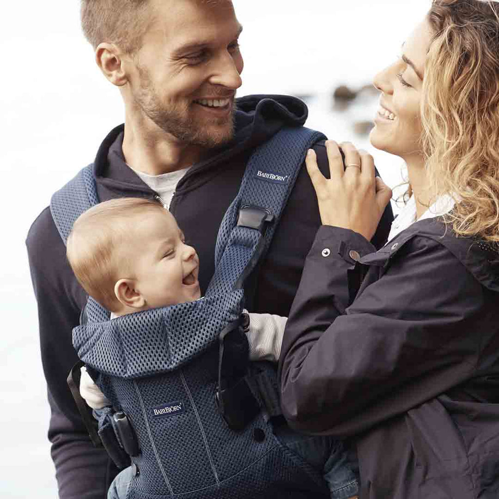 BabyBjörn One Air Baby Carrier - Navy Blue-Baby Carriers-Navy Blue- Natural Baby Shower