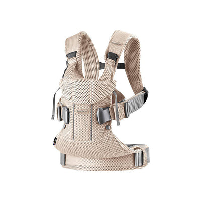 BabyBjorn One Air Baby Carrier - Pearly Pink-Baby Carriers-Pearly Pink- Natural Baby Shower