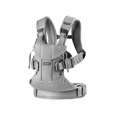 BabyBjorn One Air Baby Carrier - Silver-Baby Carriers-Silver- Natural Baby Shower