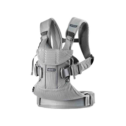 BabyBjörn One Air Baby Carrier - Silver-Baby Carriers-Silver- Natural Baby Shower