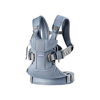 BabyBjorn One Air Baby Carrier - Slate Blue-Baby Carriers-Slate Blue- Natural Baby Shower