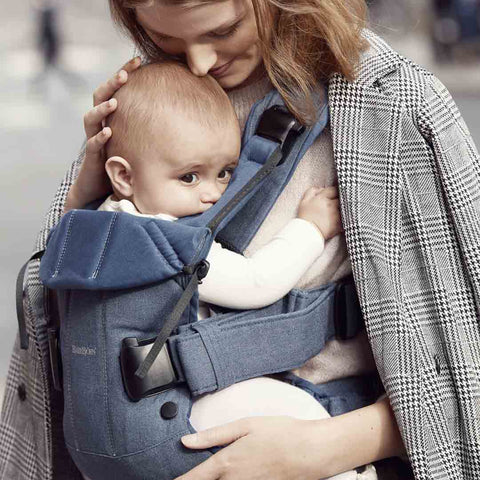 BabyBjörn One Baby Carrier - Classic Denim-Baby Carriers-Classic Denim- Natural Baby Shower