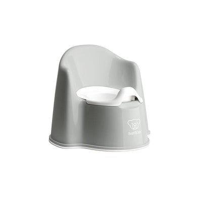 BabyBjorn Potty Chair - Grey/White-Potty Seats- Natural Baby Shower