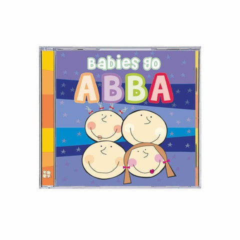 Babies Go CD - ABBA - CD's - Natural Baby Shower