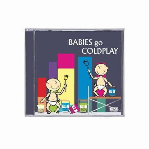 Babies Go CD Coldplay