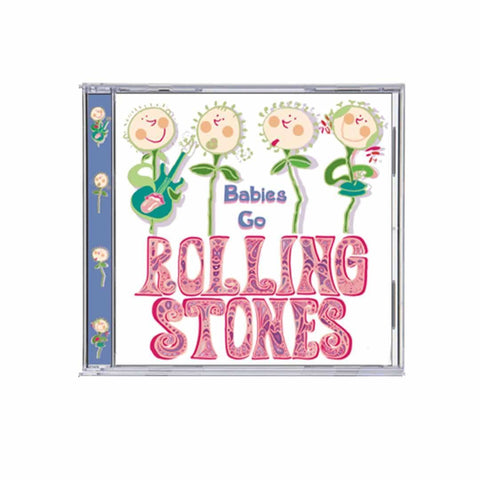 Babies Go CD - Rolling Stones - CD's - Natural Baby Shower