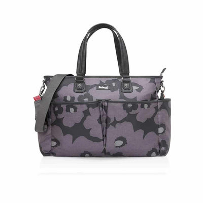 Babymel Changing Bag - Bella - Floral Grey-Changing Bags- Natural Baby Shower