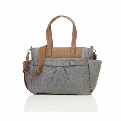 Babymel Changing Bag - Cara Bloom - Grey-Changing Bags- Natural Baby Shower