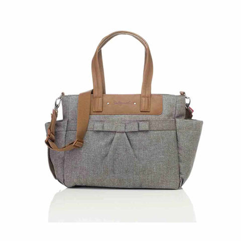 Babymel Changing Bag - Cara Bloom - Grey