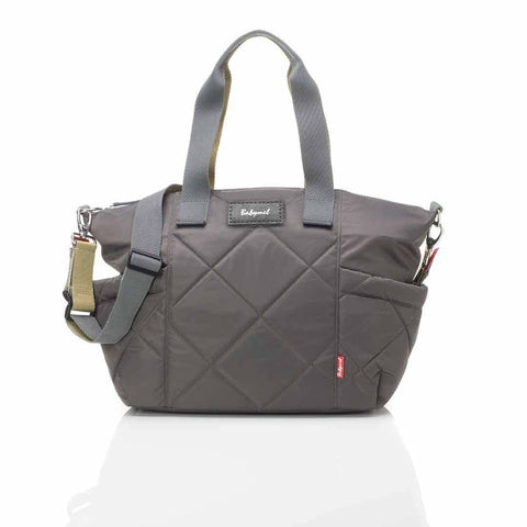 Babymel Changing Bag - Evie Quilted - Charcoal