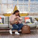 Babymel Changing Bag - Grace - Tan Lifestyle