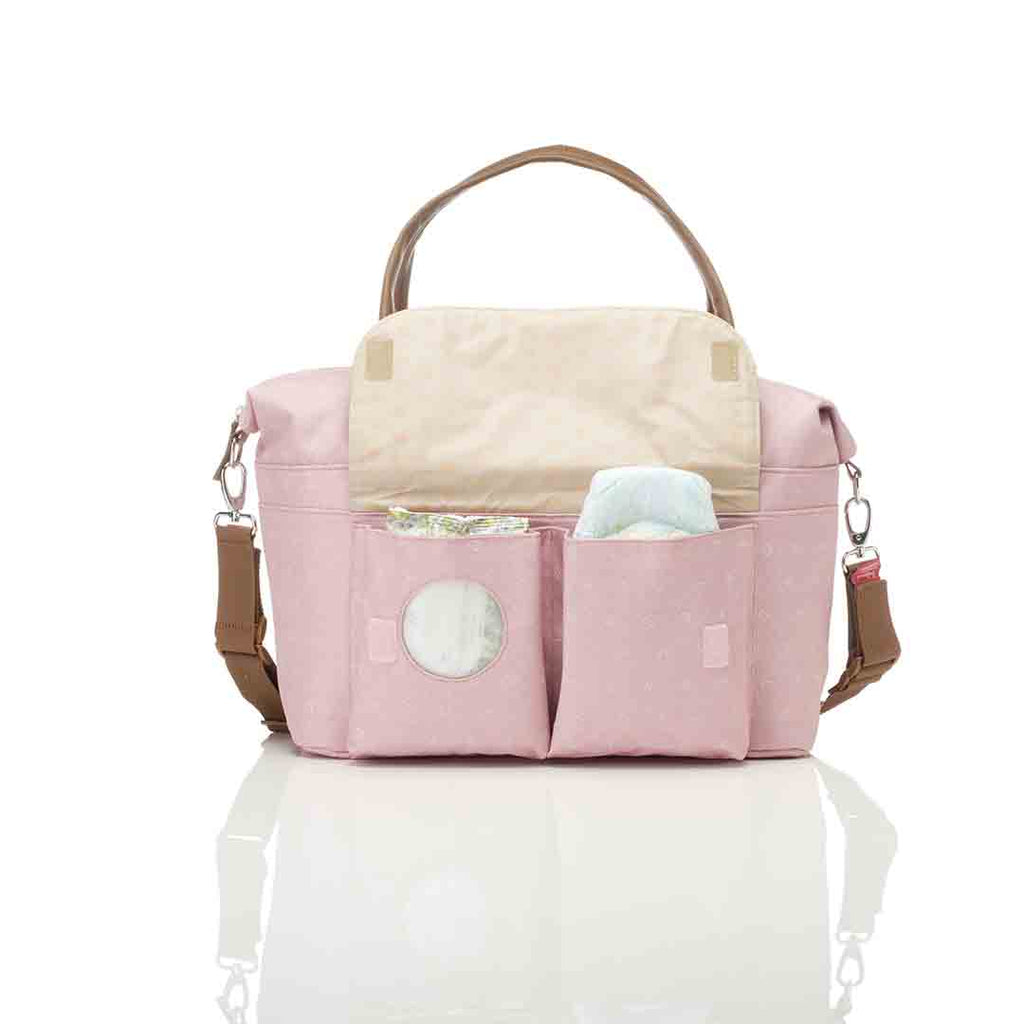 Babymel Changing Bag - Jade - Dutsy Pink 8