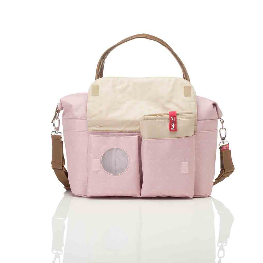 Babymel Changing Bag - Jade - Dutsy Pink 7