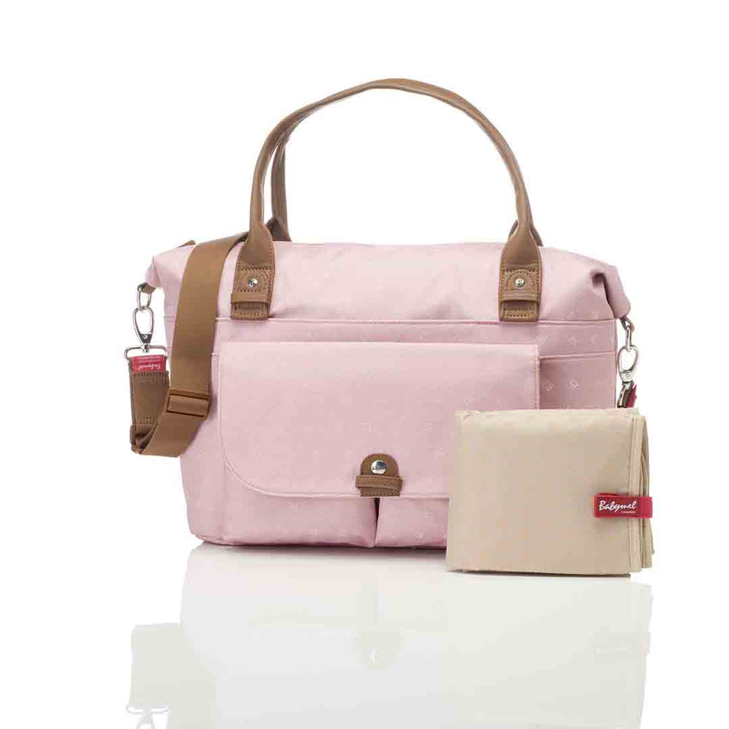 Babymel Changing Bag - Jade - Dutsy Pink