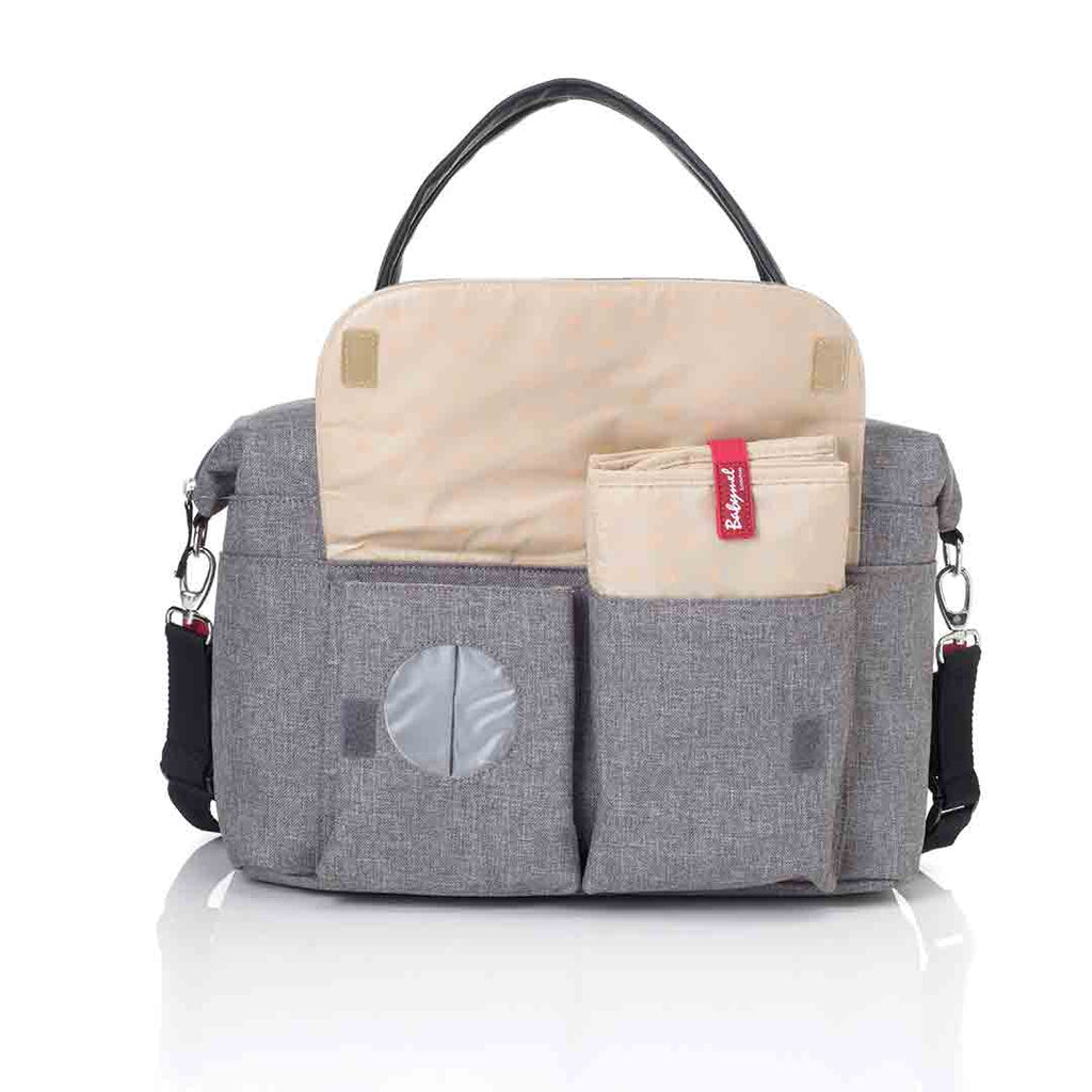 Babymel Changing Bag - Jade - Grey 7