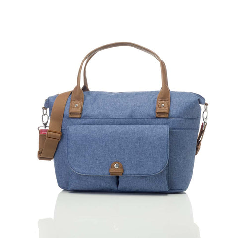 Babymel Changing Bag - Jade - Mid Blue-Changing Bags- Natural Baby Shower