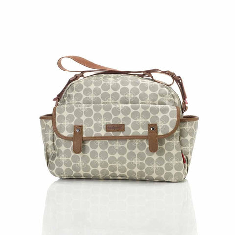 Babymel Changing Bag - Molly - Grey Floral Dot-Changing Bags- Natural Baby Shower