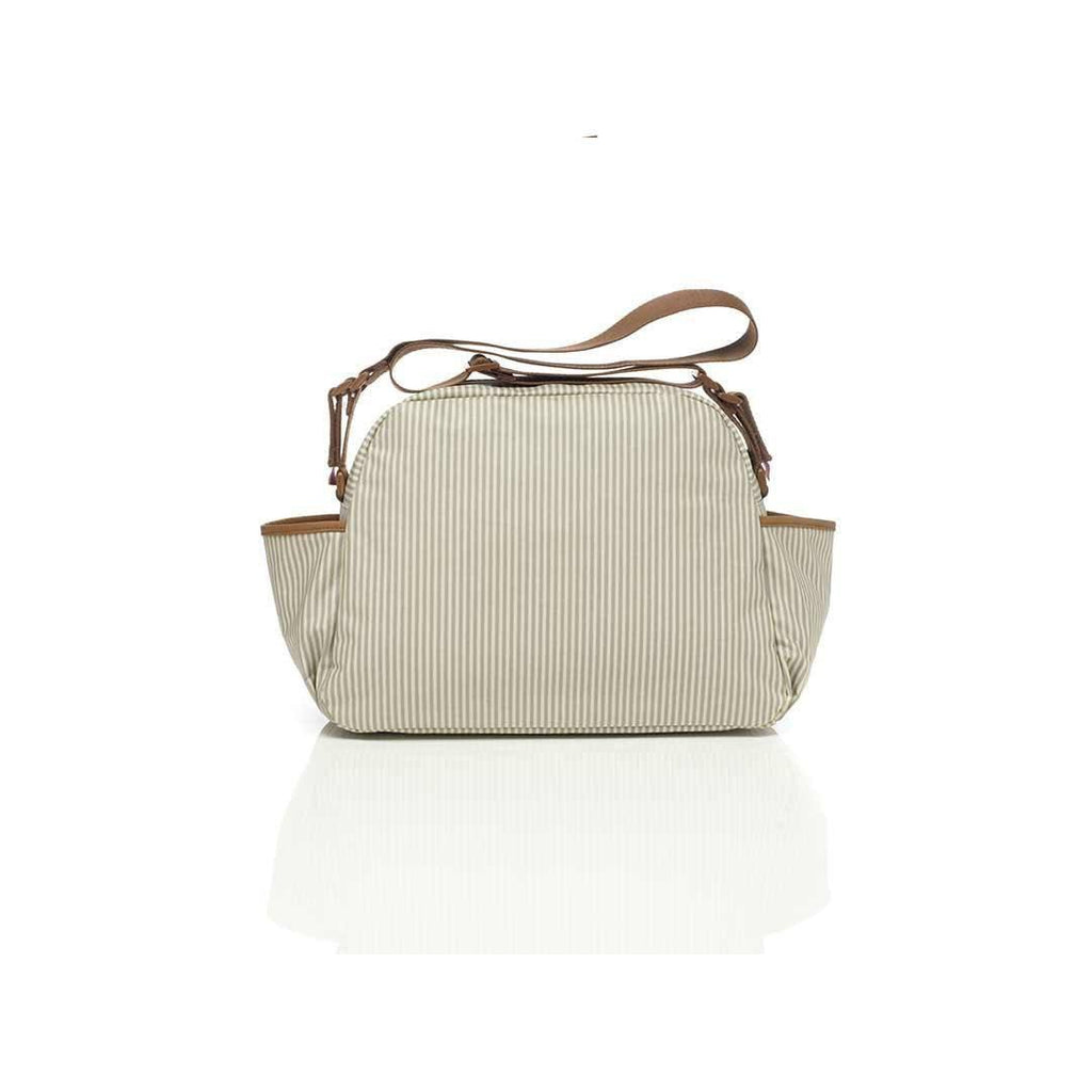 Babymel Changing Bag - Molly - Grey Stripe - Changing Bags - Natural Baby Shower
