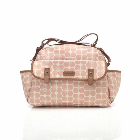 Babymel Changing Bag - Molly - Pink Floral Dot