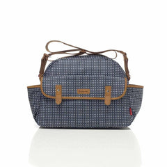Babymel Changing Bag - Molly - Pixel Dot Navy