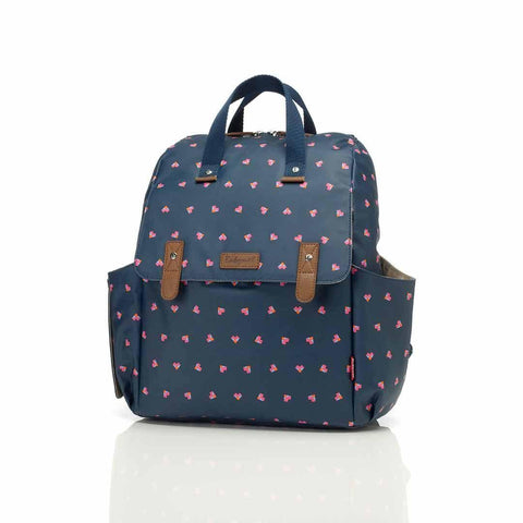 Babymel Changing Bag - Robyn - Navy Origami Heart