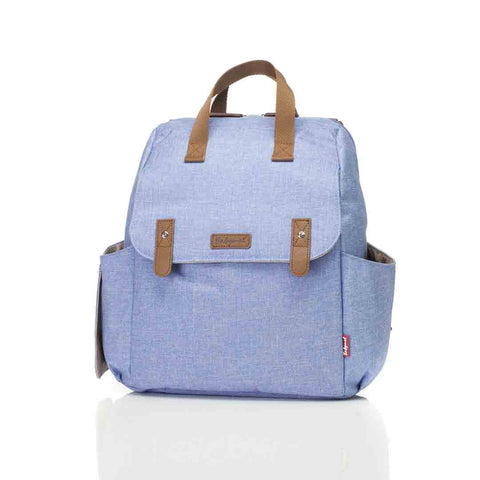 Babymel Changing Bag - Robyn Convertible Backpack - Bluebell-Changing Bags- Natural Baby Shower