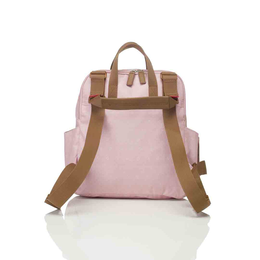 Babymel Changing Bag - Robyn Convertible Backpack - Dusty Pink 4