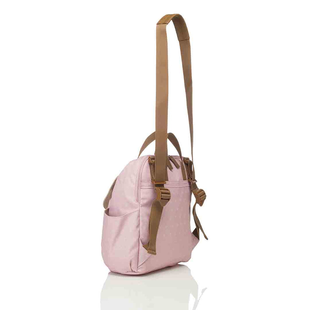 Babymel Changing Bag - Robyn Convertible Backpack - Dusty Pink 7