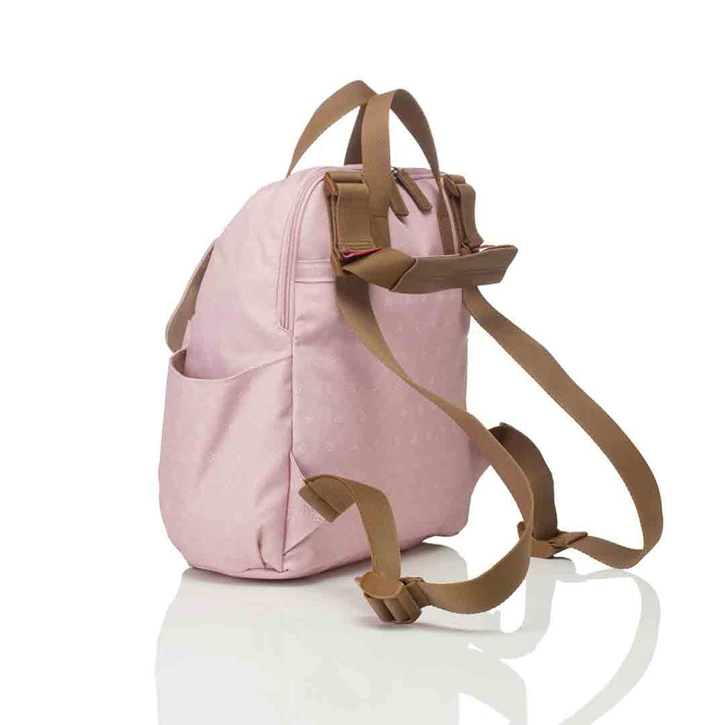 Babymel Changing Bag - Robyn Convertible Backpack - Dusty Pink 5