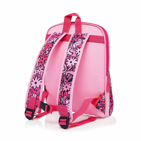 Babymel Kid's Backpack - Zip & Zoe - Floral Pink Back