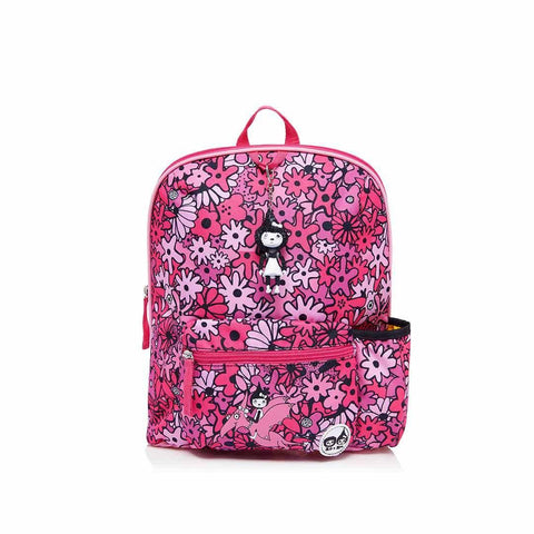 Babymel Kid's Backpack - Zip & Zoe - Floral Pink