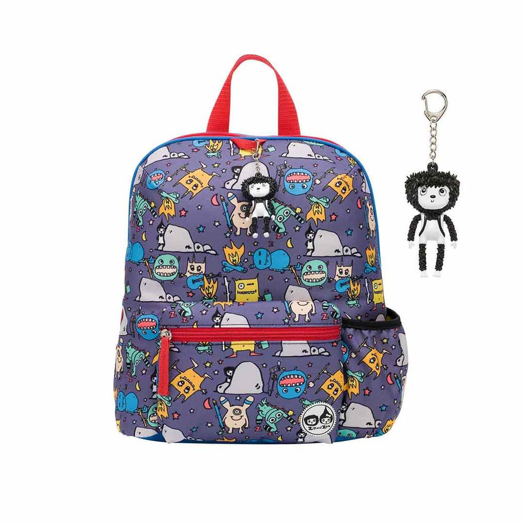 Babymel Zip & Zoe Backpack 3+ - Monster-Children's Bags- Natural Baby Shower
