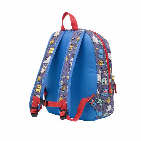 Babymel Zip & Zoe Junior Backpack - Monster-Children's Bags- Natural Baby Shower