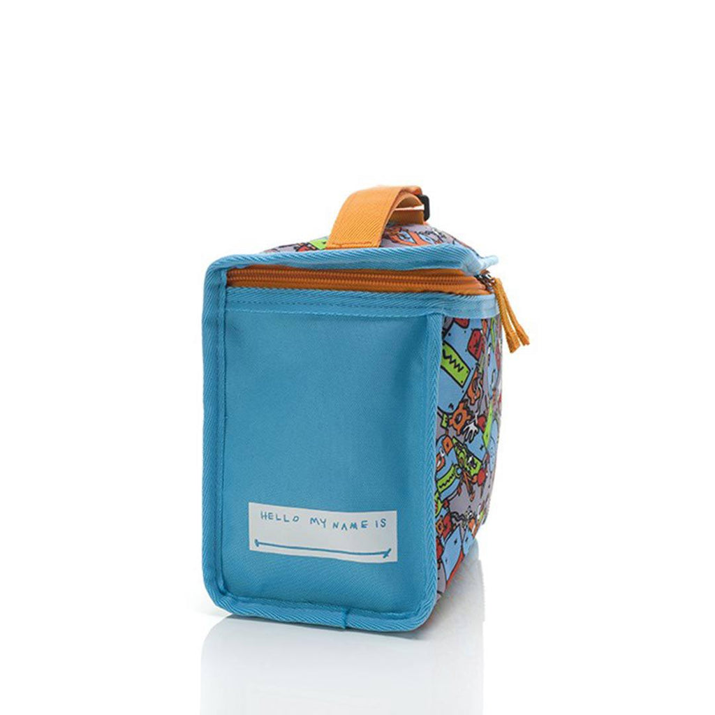 Babymel Zip & Zoe Lunchie Bag - Robot Blue-Lunch Bags- Natural Baby Shower