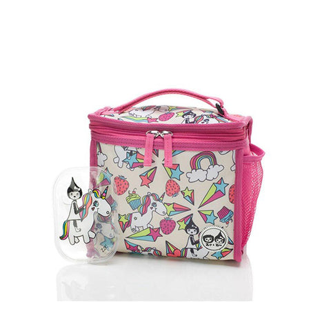 Babymel Zip & Zoe Lunchie Bag - Unicorn-Lunch Bags- Natural Baby Shower