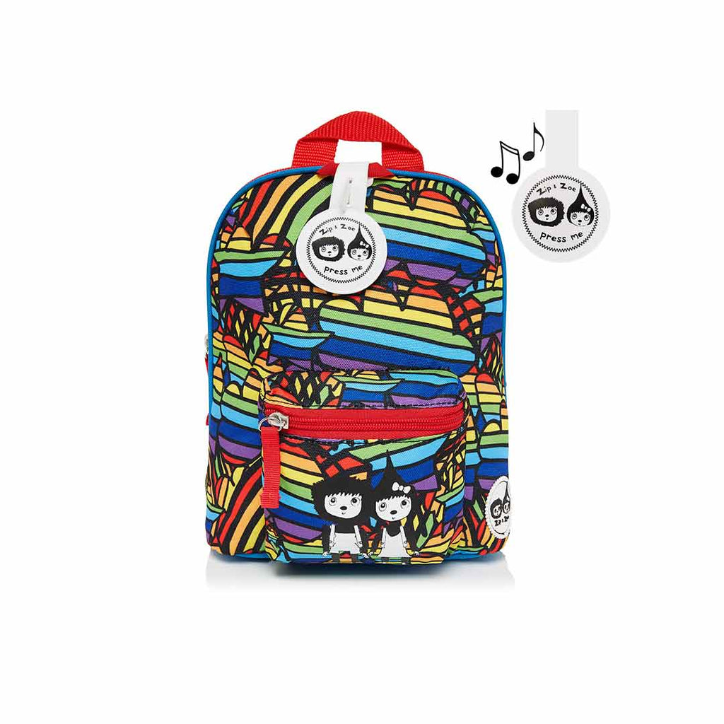 Babymel Zip & Zoe Mini Backpack - Rainbow Multi-Children's Bags- Natural Baby Shower