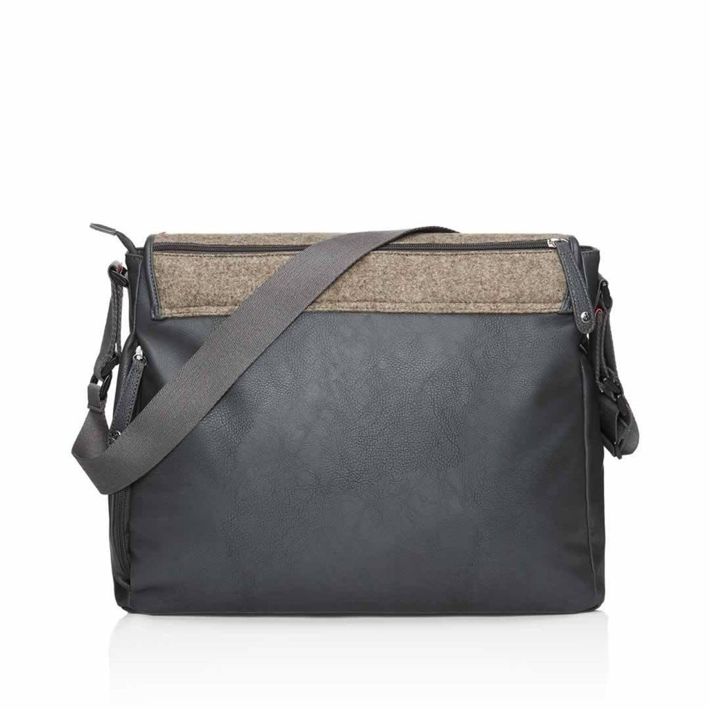 Babymel Changing Bag - Ally - Grey Back